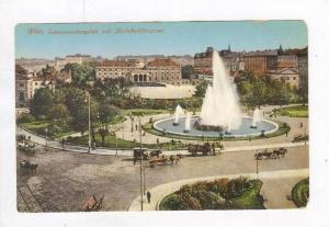 Schwarzenbergplatz Und Hochstrahlbrunnen, Wien, Austria, 1900-10s