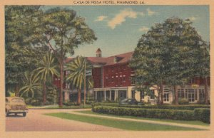 HAMMOND , Louisiana , 30-40s ; Casa De Fresa Hotel