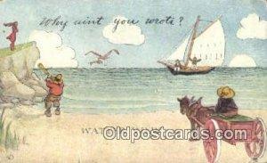 Brill Artist Postcard Post Card Old Vintage Antique writing on back