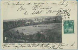 68836 -  CHILE -  VINTAGE POSTCARD:  FOOTBALL STADIUM  - Valparaiso 1906