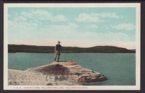 Fishing Cone,Yellowstone Postcard