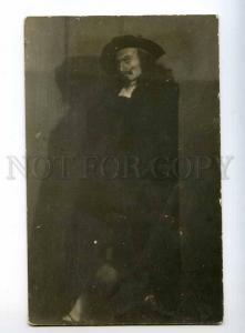 243976 Russian OPERA singer ROLE 1920s Vintage PHOTO