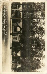 Jacob Lake AZ Inn Real Photo Postcard