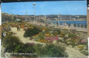 Isle of Man Promenade Rock Gardens Douglas - posted 1965