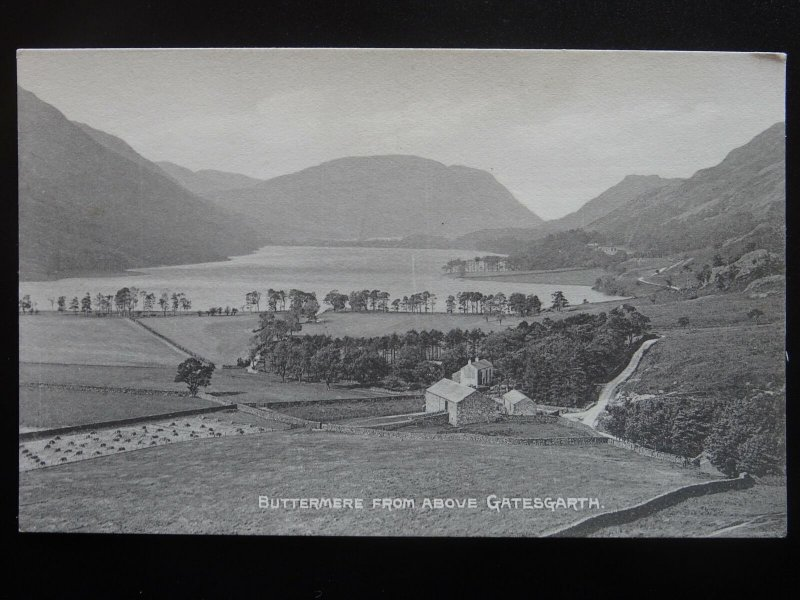 Cumbria 2 x BUTTERMERE LAKE - Old Postcard by H. Mayson