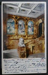 Boston, MA - Grand Stair Case, Public Library - 1907