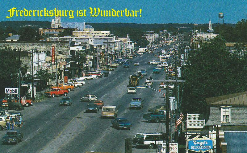 Main Street , FREDERICKSBURG , Texas , 50-60s