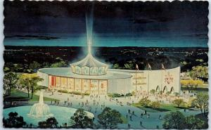 1964-65 New York World's Fair Postcard PAVILION OF THE VATICAN Artist's View