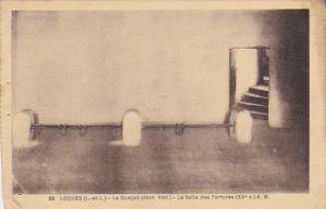 France Loches Le Donjon La Salle des Tortures