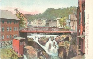 Black River Falls, Springfield, Vermont Undivided Back Postcard