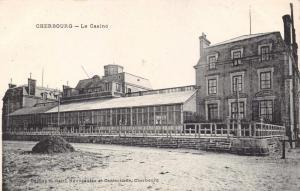Vintage Postcard CHERBOURG Le Casino, France #C