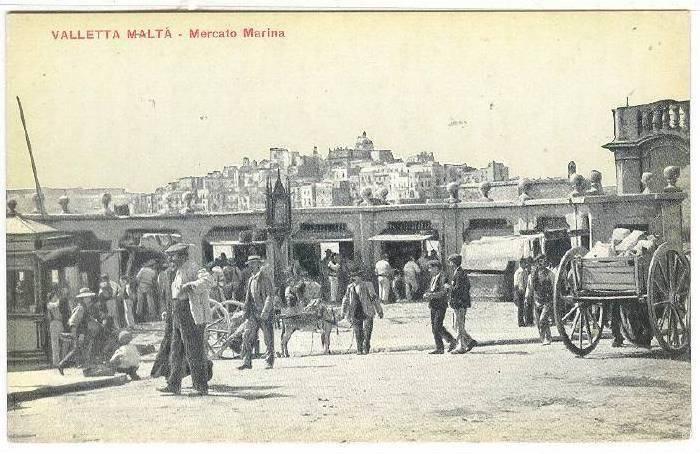 Valletta Malta - Mercato Marina , 00-10s