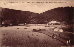 CPA l'Auvergne Lac CHAMBON La Plage et ses Baigneurs (409986)