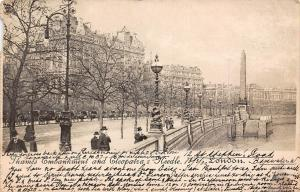London Thames Embankment and Cleopatra's Needle 1903