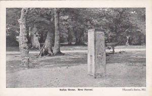 Rufus Stone, New Forest, Hampshire, England, UK, 1900-1910s
