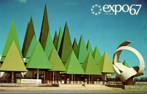 Canada Montreal Expo67 The Canadian Pulp and Paper Pavilion