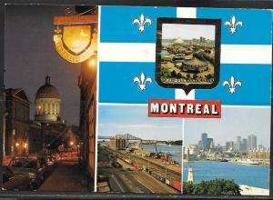 Canada, Montreal, 4 scenes, mailed 1979