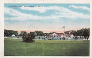 Municipal Pool Hutchinson Kansas 1931