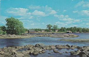 Panorama, Grande-Riviere, Gaspesie, Quebec, Canada, 1940-1960s