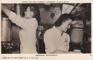 RP: American Red Cross Clubmobile Doughgirls, 1940-50s