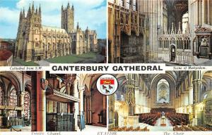 Canterbury Cathedral from S.W. Scene of Martyrdom, Trinity Chapel, Choir
