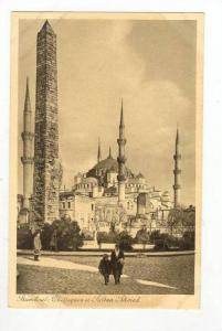 Obelisques Et Sultan Ahmed, Istanbul, Turkey, 1900-1910s