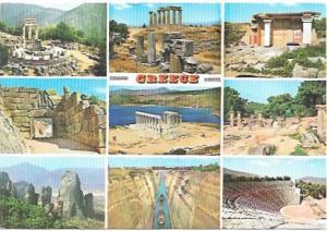 Greece  Nine great scenes, nice stamp