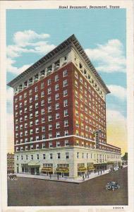 Hotel Beaumont Beaumont Texas Curteich