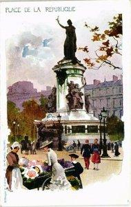 CPA PARIS 3e - Place de la République (79369)