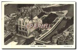 Old Postcard Paris Eglise Notre Dame