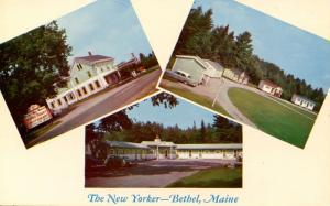 ME - Bethel. The New Yorker Motel & Restaurant