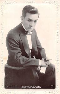Sessue Hayakawa, Actor, Famous Cinema Star Series, Embossed Real Photo
