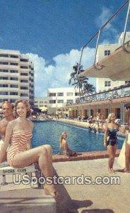 Shore Club Hotel - Miami Beach, Florida FL Postcard