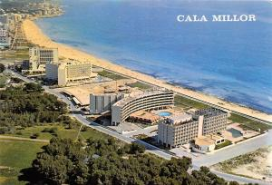 Spain Cala Millor Mallorca Hotel Swimming Pool Beach Promenade