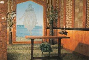 OHINEMUTU , New Zealand , 50-70s ; Christ on the Lake , St Faith's Church ,...