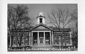Cochran Georgia Bleckley Court House Real Photo Antique Postcard K69015