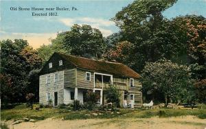 Butler Pennsylvania~Ladies Out Front the Old Stone House~built 1812~1910 PC