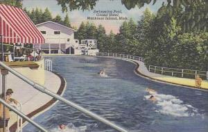 Michigan Mackinac Island Swimming Pool Grand Hotel