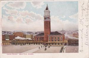 Union Railroad Depot Seattle Washington 1905