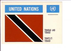 Trinidad and Tobago Flag, United Nations