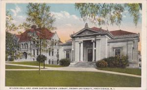 Wilson Hall and John Carter Brown Library Brown University Providence Rhode I...