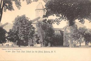 Batavia New York School For The Blind Antique Postcard K106819