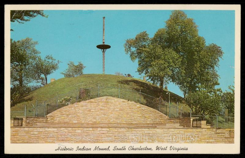 Historic Indian Mound, South Charleston, West Virginia