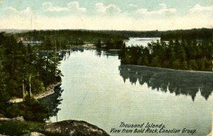 Canada - Ontario, Thousand Islands. View from Bald Rock