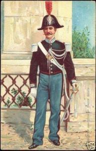 Vatican, Gendarme Pontificio, Daily Uniform (ca. 1899)