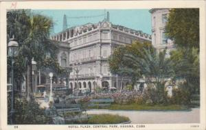 Cuba Havana Hotel Plaza Central Park 1932