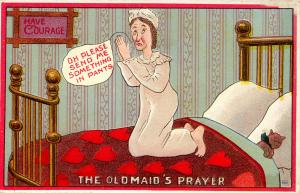Humor - The Old Maid's Prayer