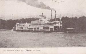 Steamer Helen Blair, Muscatine, Iowa, 00-10´s