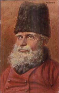 Gerstenhauer Old Dutch Men Face Characteristic Studies Salty Fishermen PC #4