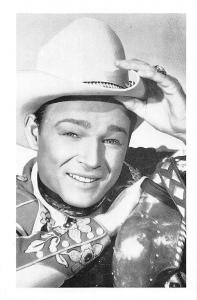 Roy Rogers, born in Wyoming in 1912 Republic, Western films, Nostalgia Reprint